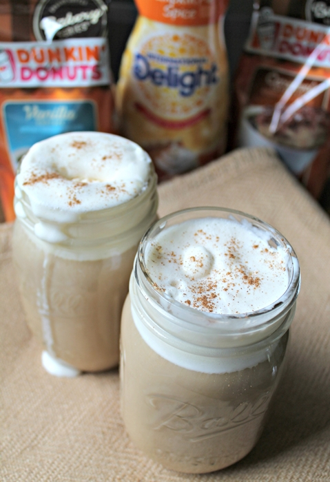 Pumpkin Spice Coffee Float by Kendall Rayburn