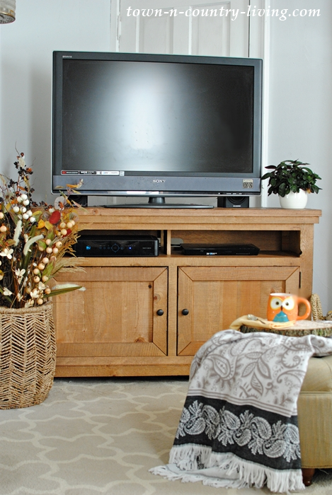 Farmhouse style TV stand