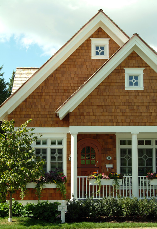 Brown Shingled Bungalow
