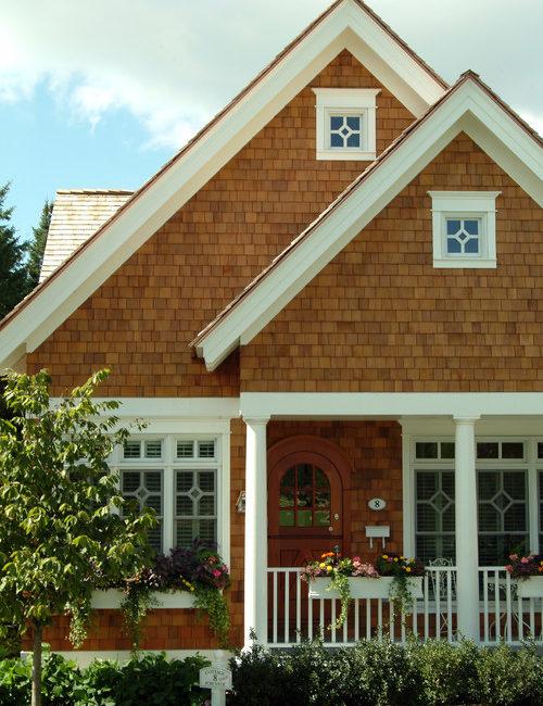 Bungalow house exterior
