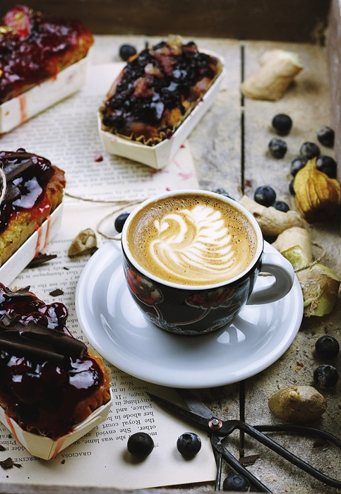 Pretty Coffee for National Coffee Day
