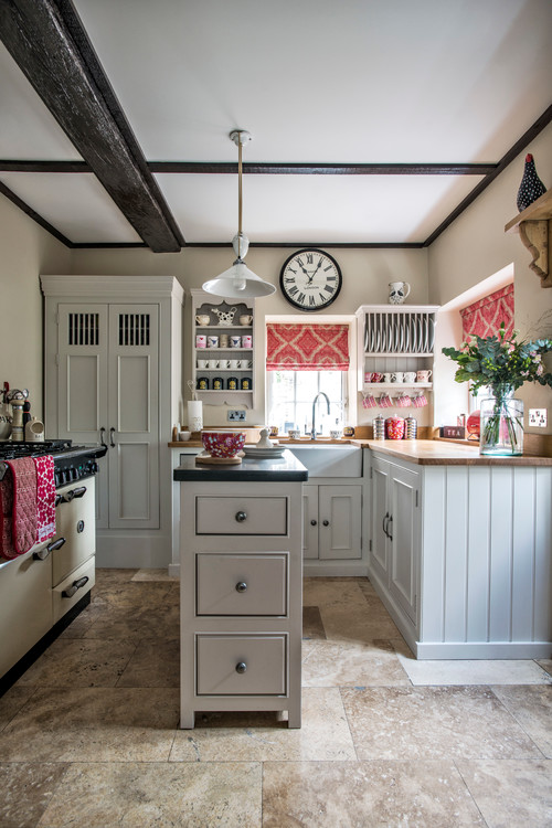 Small Space Kitchen Style And Storage Town Amp Country Living