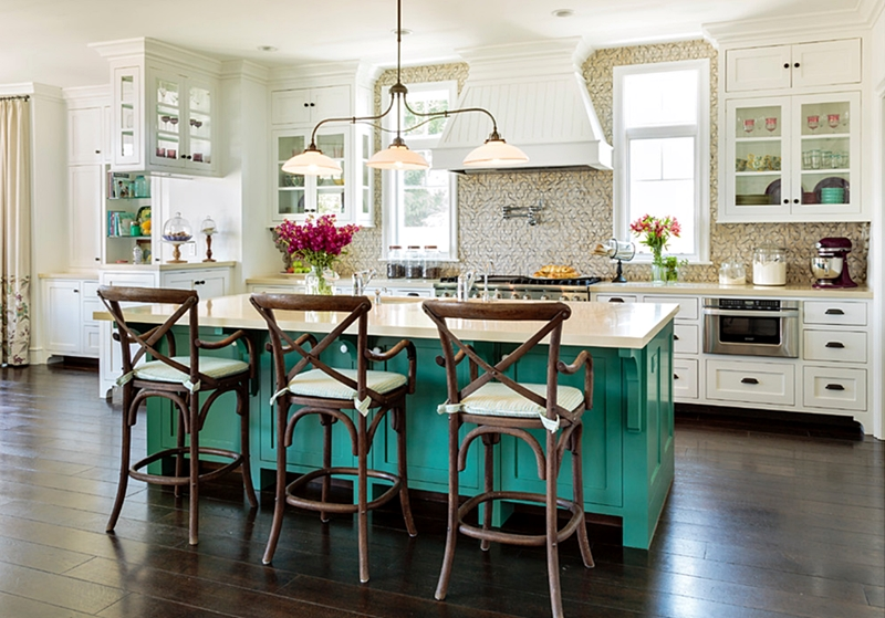 Hamptons house kitchen