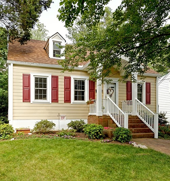 Yellow Cape Cod Cottage