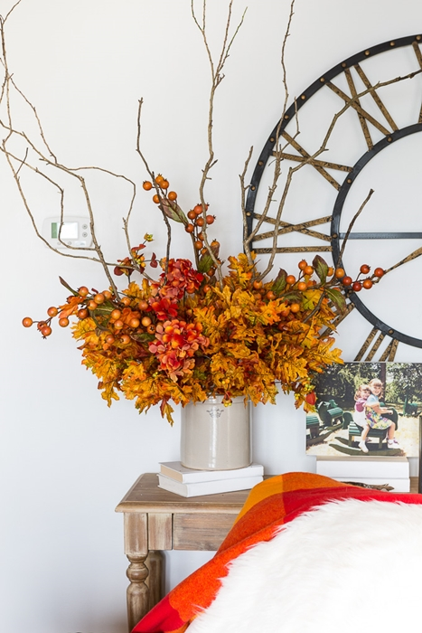 Fall Flower Arrangement by In My Own Style