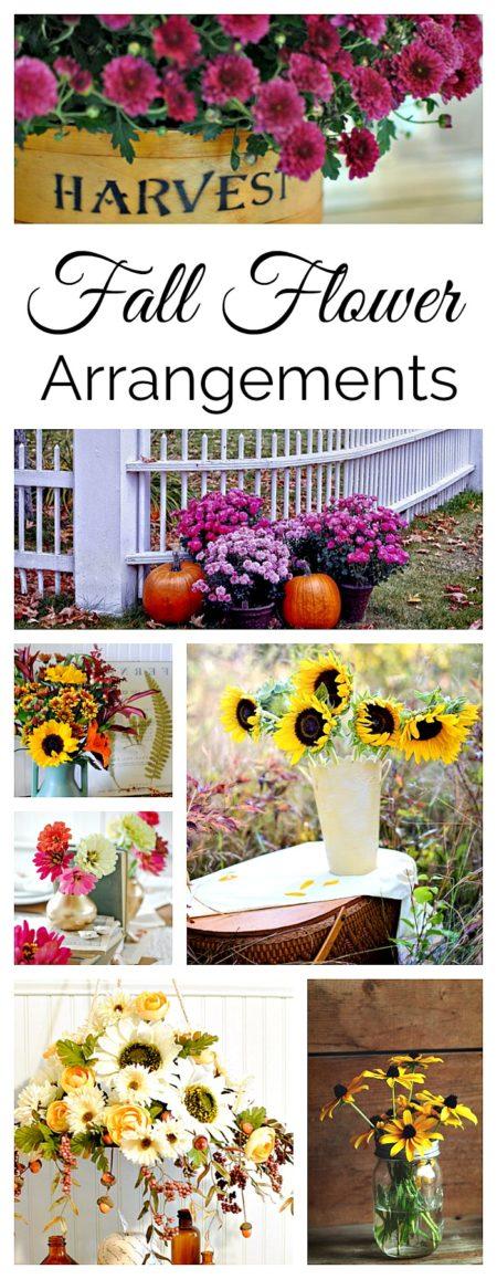 13 Fall Flower Arrangements