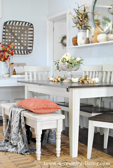 A Farmhouse Dining Table For An Awkward