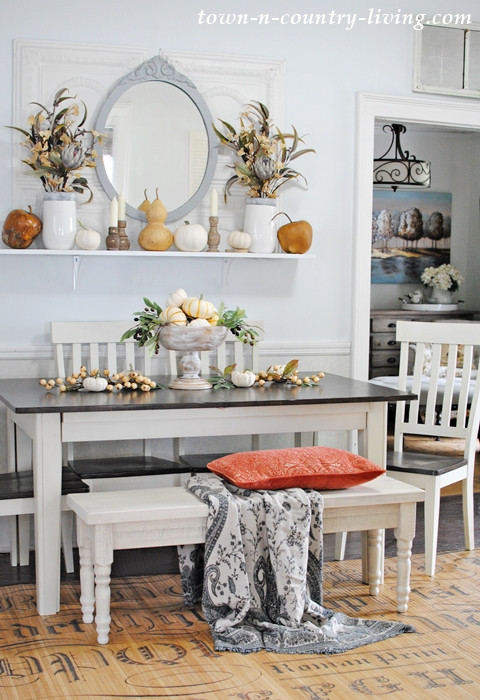 Extendable Farmhouse Dining Table