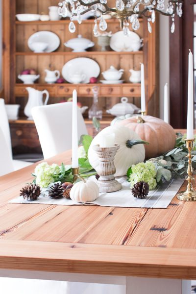 Fall Tablescape by Finding Silver Pennies