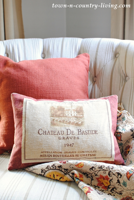 French Pillow for the Fall Season