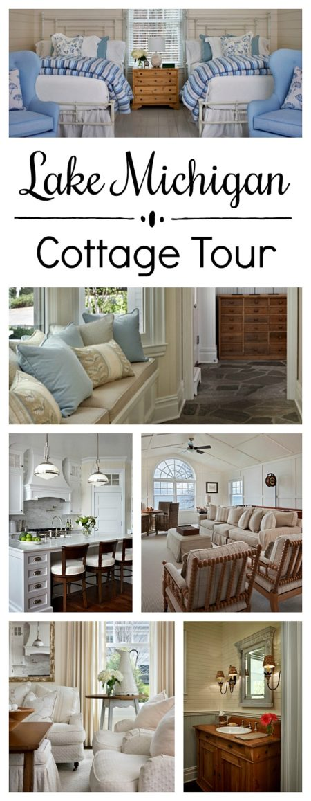 Lake Michigan Cottage Tour