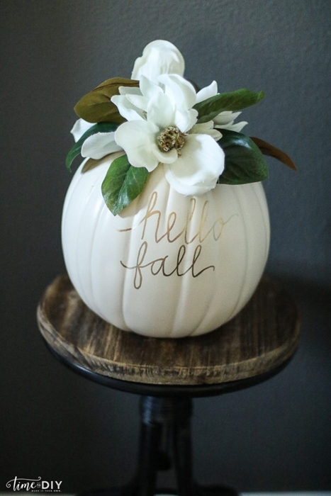 Pumpkin Floral Arrangement by Lolly Jane