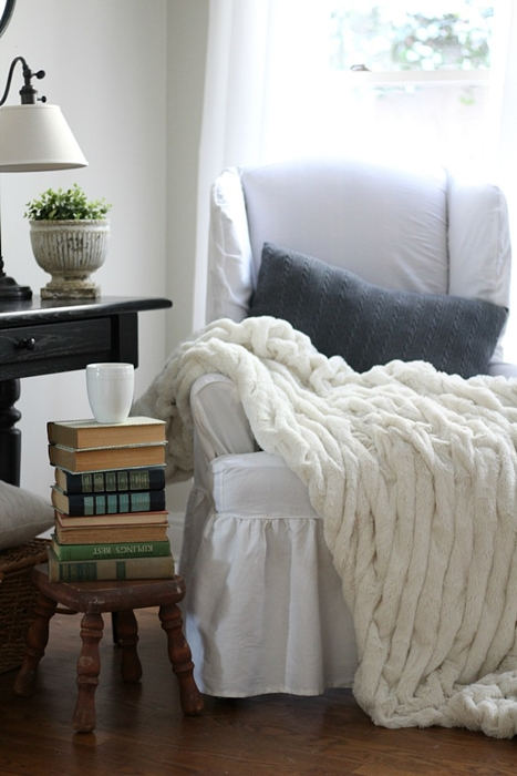 Cozy Living Corner by Sincerely Marie Designs