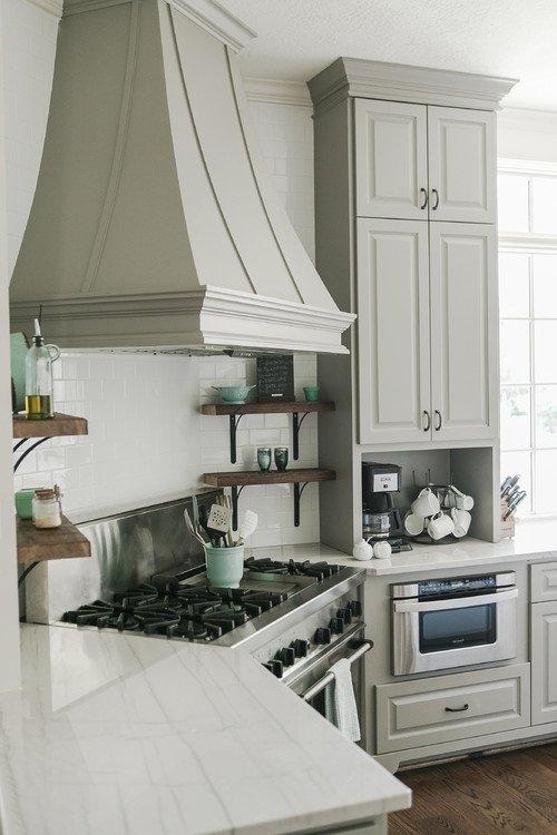 Soft Gray Kitchen Cabinets