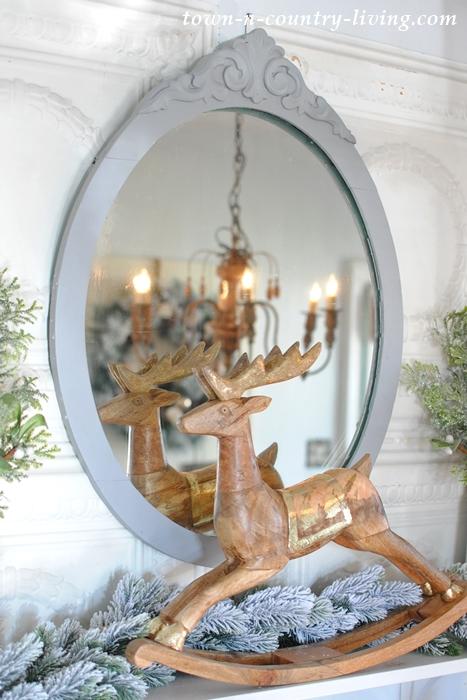 Christmas Rocking Reindeer