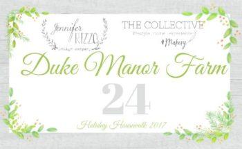 Duke Manor Farm Button