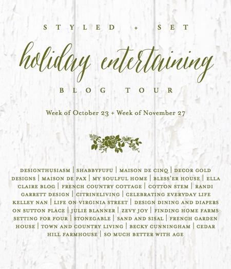 Styled and Set Holiday Entertaining