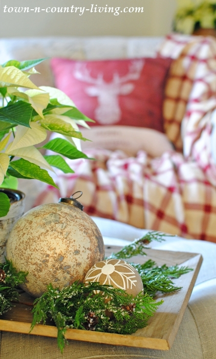Country Style Christmas Decorating