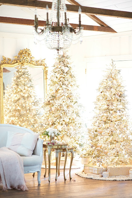 Christmas Tree by French Country Cottage