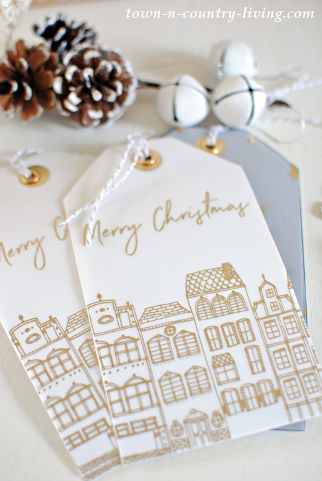 Coordinating Christmas Gift Tags