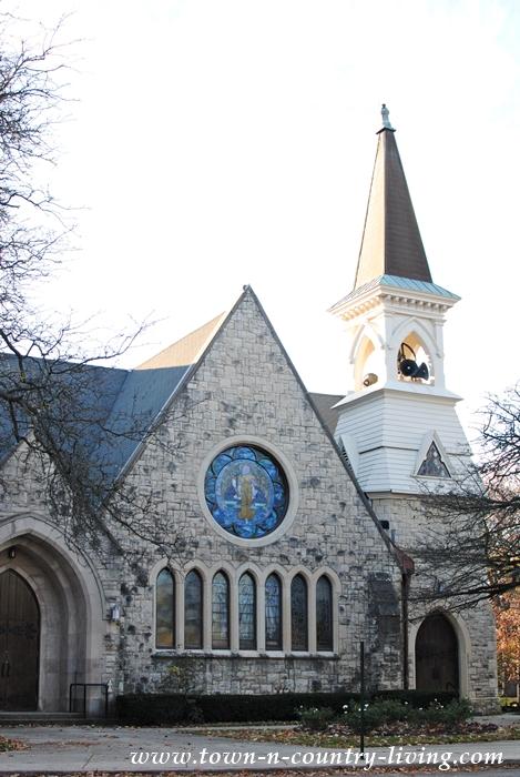 Historic Church in Riverside, Illinois
