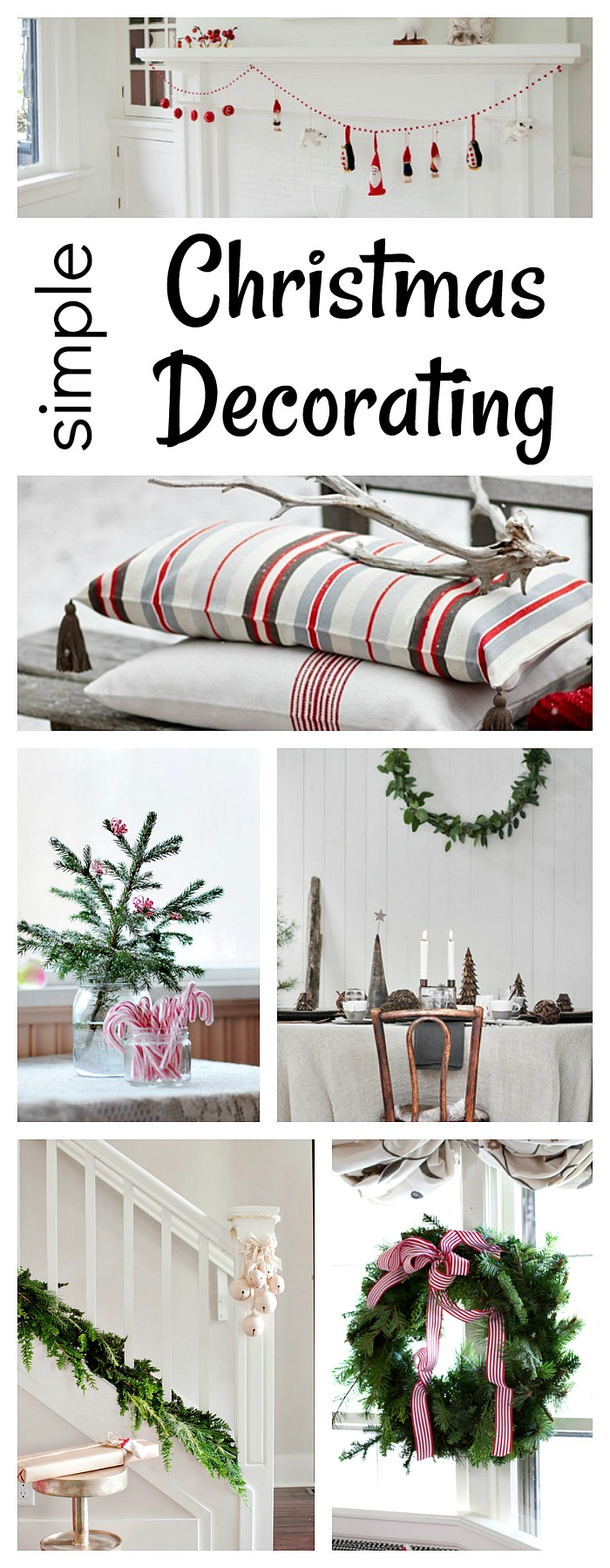 Simple Christmas Decorating Ideas - Town & Country Living