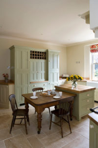 Country Kitchen with Oodles of Storage