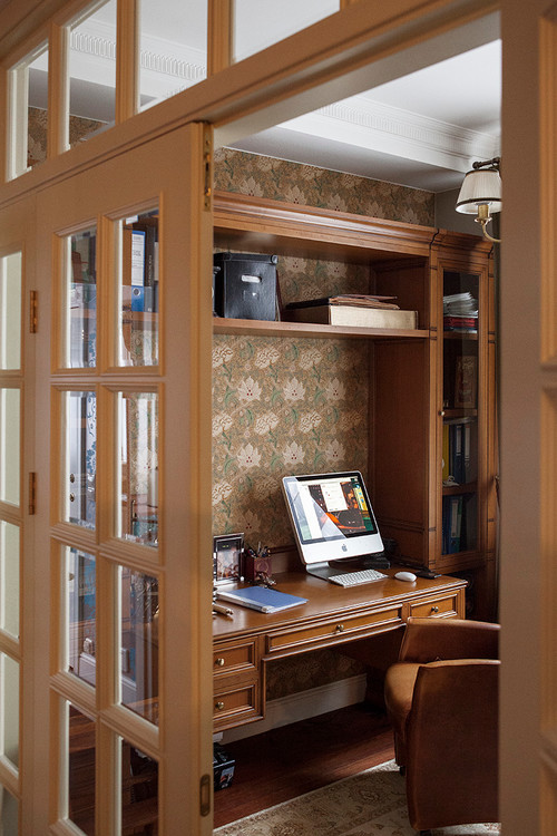 Country Style Home Office