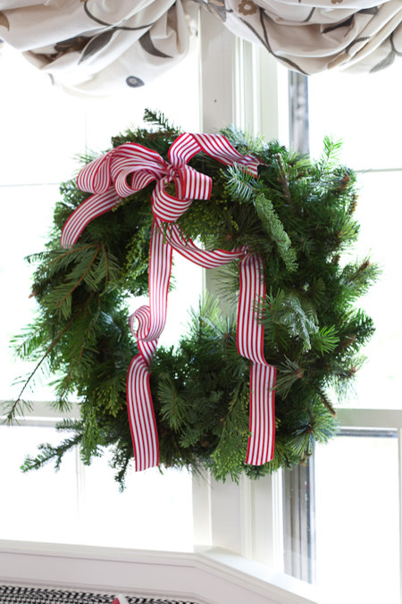 Green Christmas Natural Wreath