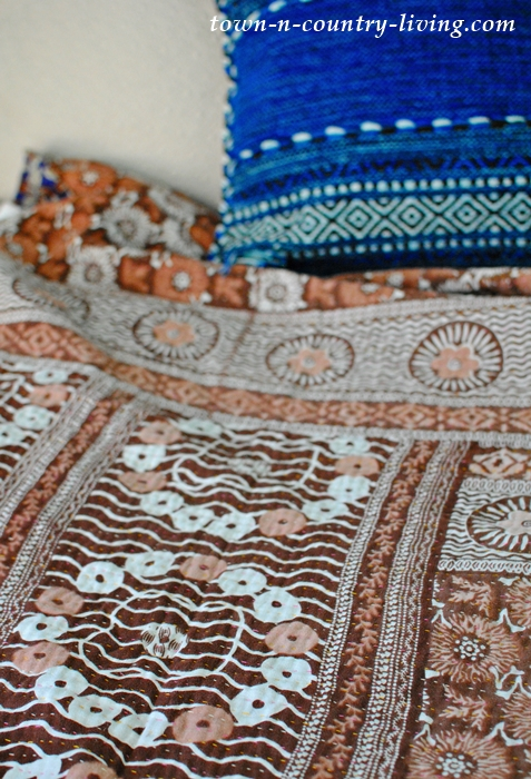 Authentic Kantha Blanket