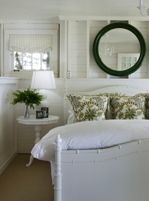 Beach Style Cottage Bedroom
