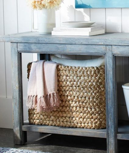 Pottery Barn Console Basket