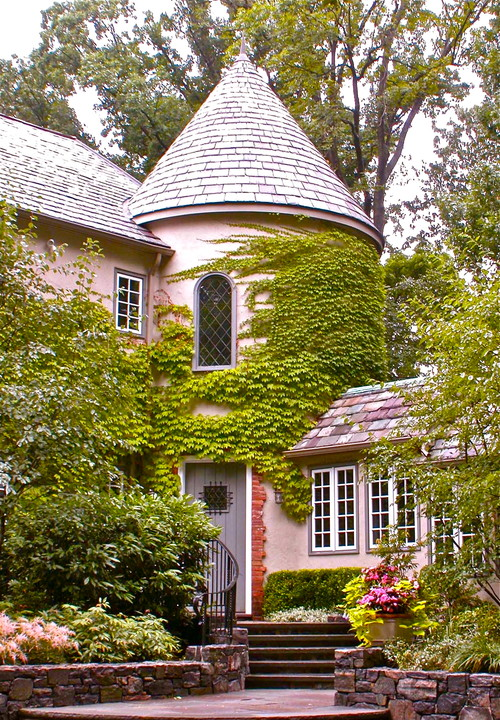Pink House with Turret