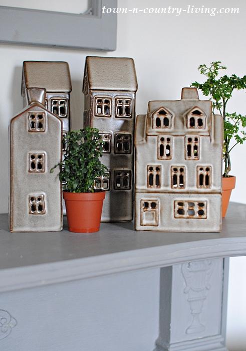 Ceramic Village Vignette