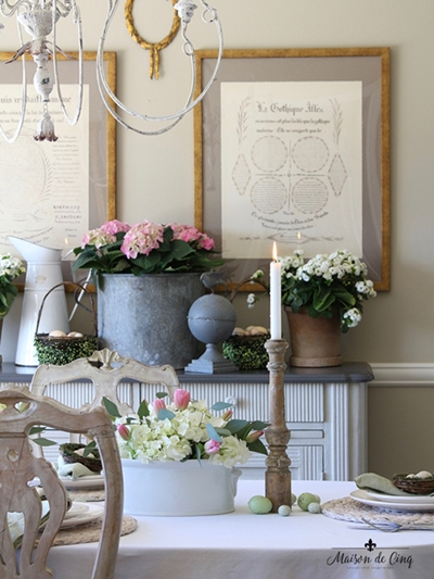 Easter Table by Maison de Cinq