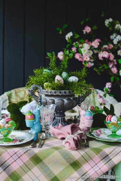 Easter Table at Celebrating Everyday Life