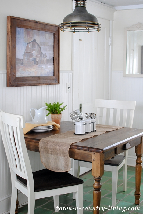 Farmhouse Table from Pottery Barn