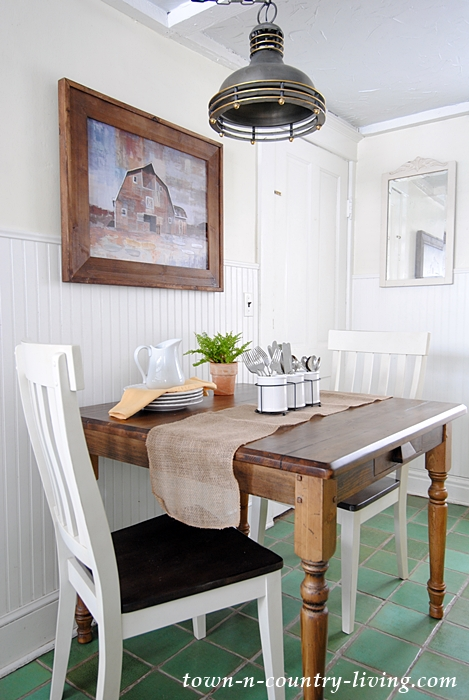Farmhouse Table For A Breakfast Nook Town Amp Country Living