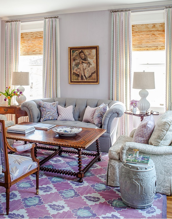 Decorating with Lavender - Town & Country Living