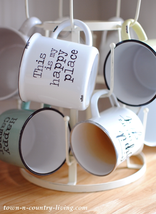French Coffee Mug Rack