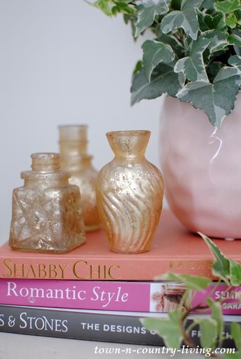 Pink and Gold Vignette