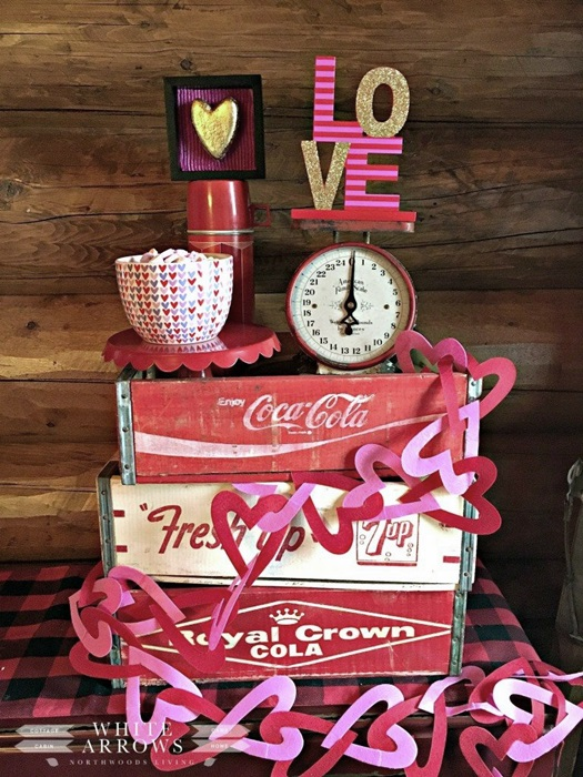 Vintage Valentines Decor