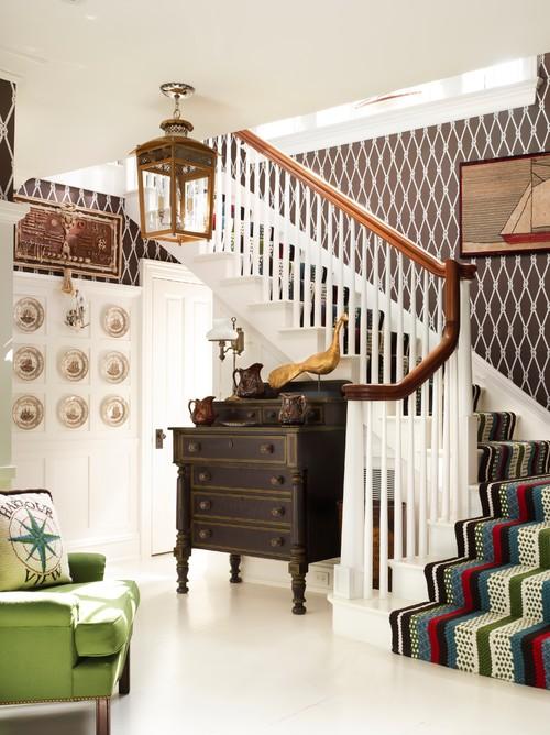 Elegant Coastal Staircase