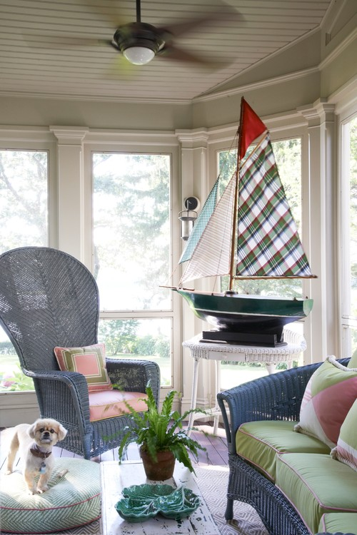 Coastal Style Sunroom