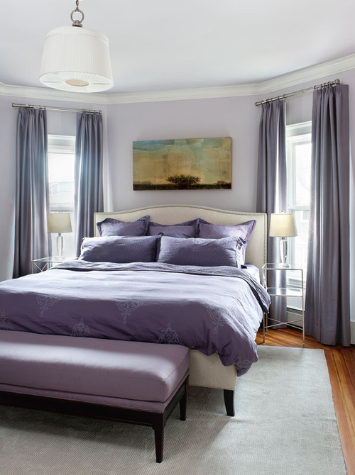 Decorating with Lavender in the Bedroom