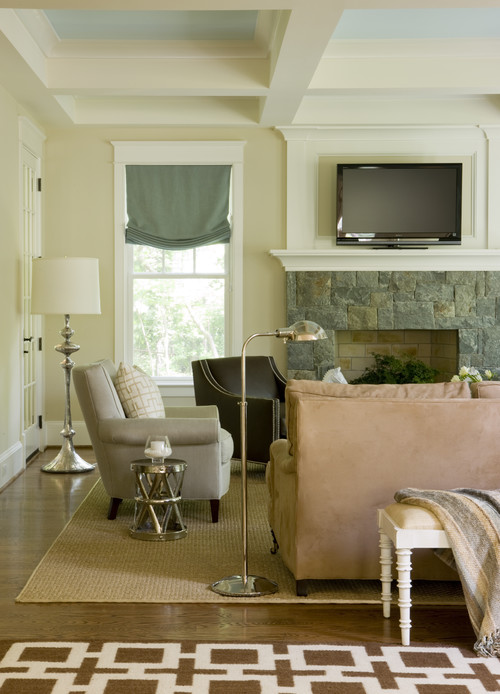 Modern Country Family Room