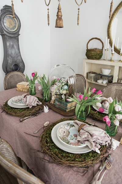 So Much Better with Age Easter Table