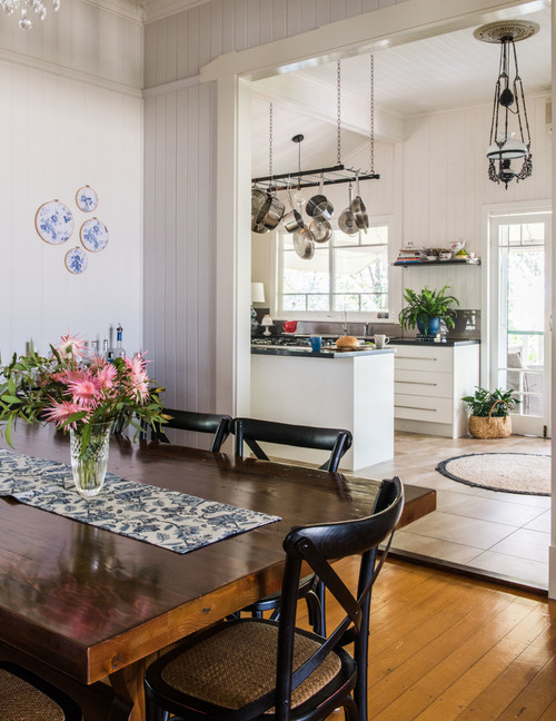 Farmhouse Dining and Kitchen