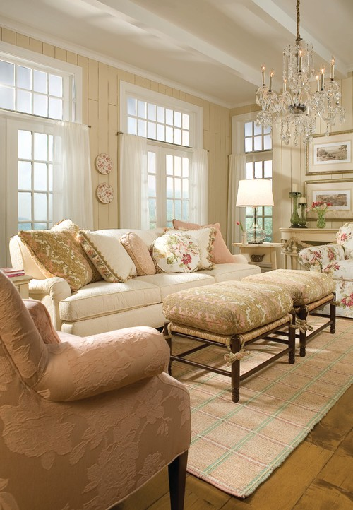 Soft and Pretty Living Room