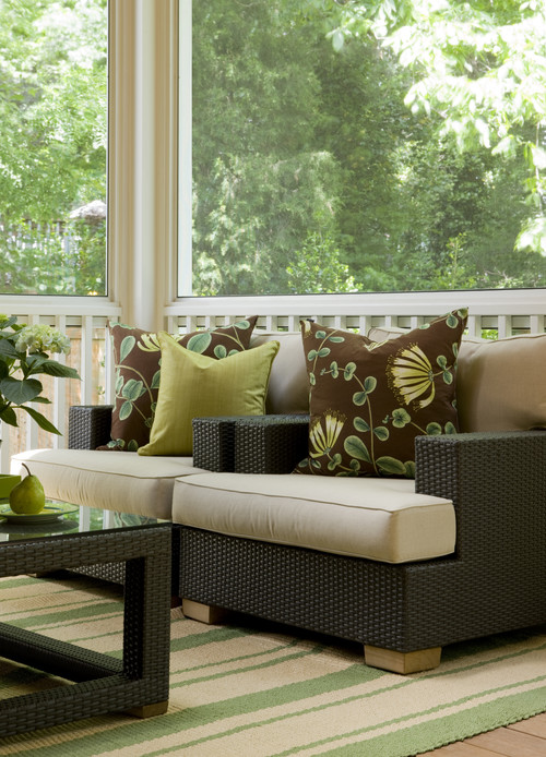 Modern Country Sun Porch